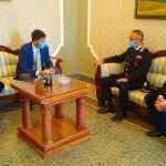 Sindaco e presidente del Consiglio incontrano il tenente col. Luigi Dellegrazie