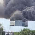 Incendio Airola, intervento dell'Arpac per valutare gli effetti ambientali